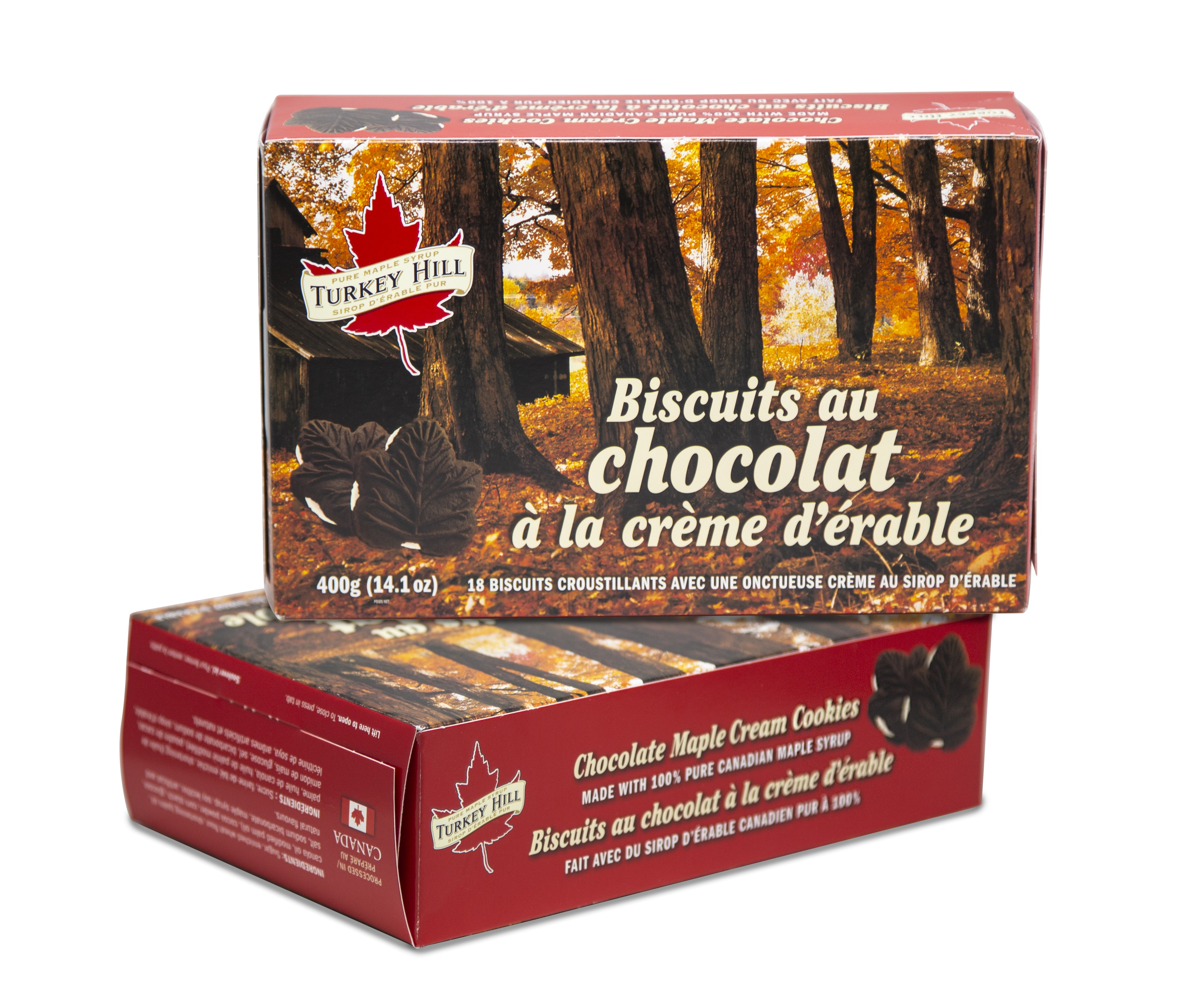 Turkey Hill 2 Pack Maple Cream Chocolate Cookies